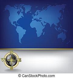 地圖, 摘要, 背景, 事務, 地球