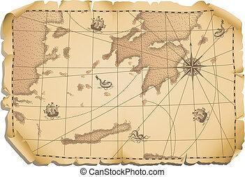 地圖, 老