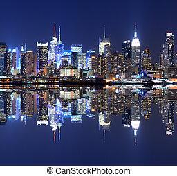 地平線, 曼哈頓