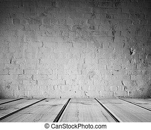 地板, 牆