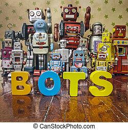 地板, bots, 木制, 詞
