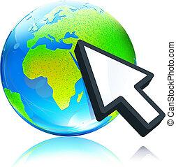 地球全球, 地圖