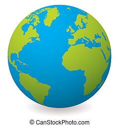 地球全球, 自然