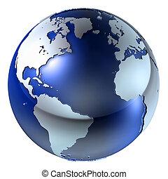 地球, 結构, 3d