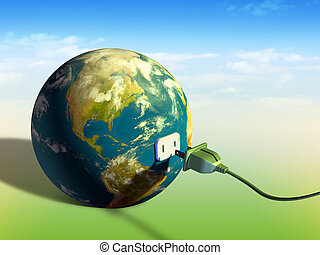 地球, 能量
