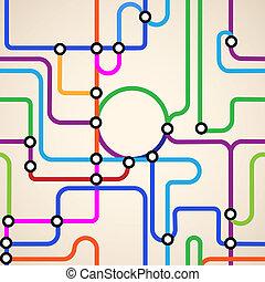 地鐵地圖, seamless