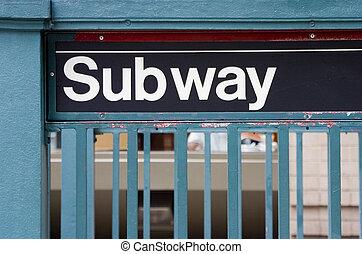 地鐵 標誌