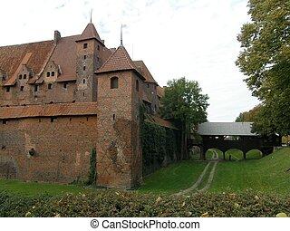 城堡, 波蘭, malbork