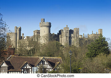 城堡, 英語