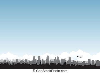 城市, 地平線