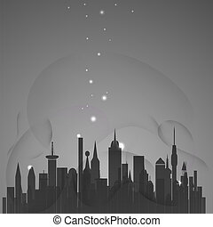 城市, 摘要, 星