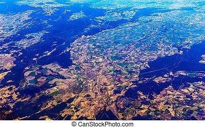 城市, 空中的觀點