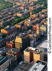 城市, 空中, 城市觀點