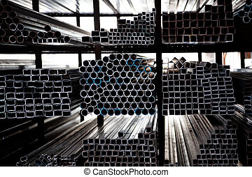 堆積, 鋼, 管子
