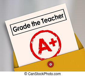 報告卡片, 等級, 調查, 老師, 評估, 學生, 反饋