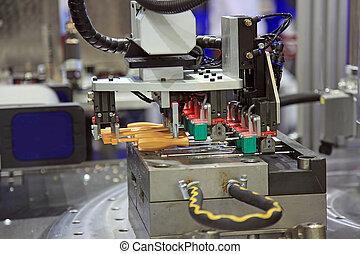 塑料, 部分, 機器, 模制, 注射