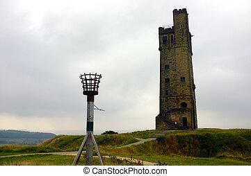 塔, 維多利亞, 城堡小山