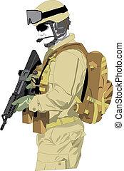 士兵, 特种部隊
