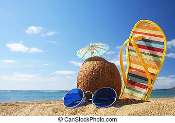 夏天, 海灘場景
