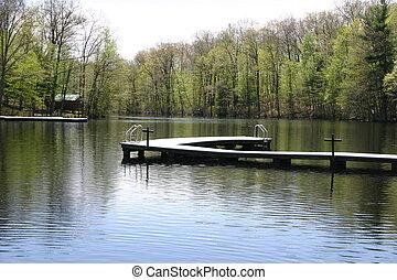 夏天, 湖