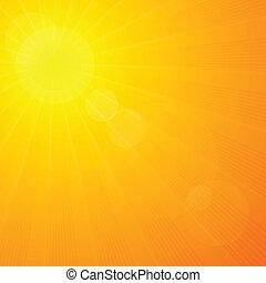 夏天, 陽光