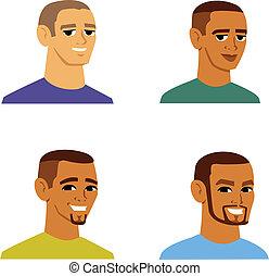 多少數民族成員, 人, avatar, 卡通