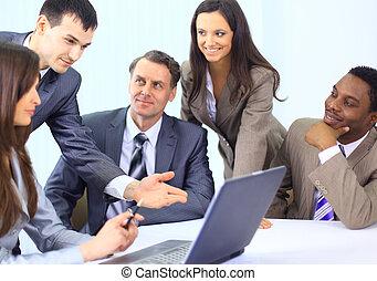 多, 事務, 种族, 執行, 討論, 工作, 會議