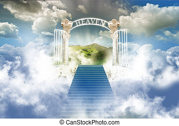 天空, 天堂