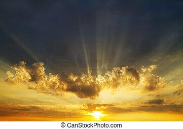 天空, 日出