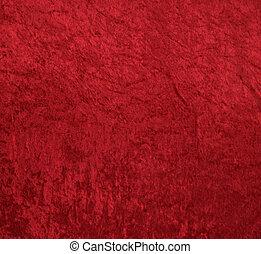 天鵝絨, 紅的背景