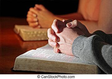 夫婦, 祈禱, 圣經