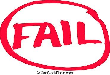 失敗, 等級, 考試