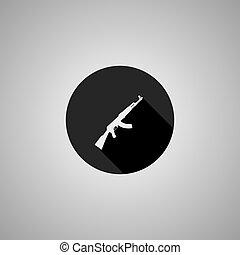 套間, 步槍, 符號