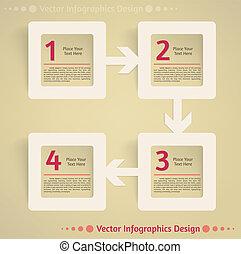 套間, 矢量, 設計, 背景, infographics