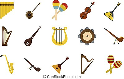 套間, 風格, 集合, 儀器, 音樂, 圖象