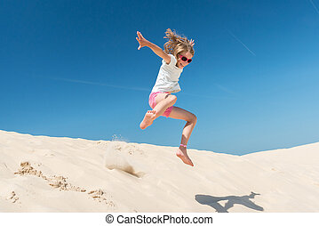女孩, 跳躍