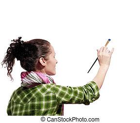 女性, 畫家