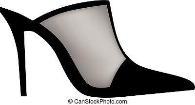女性, 鞋子, 現代