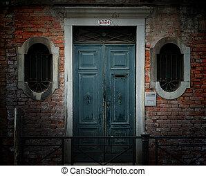 威尼斯, 門口, 風化