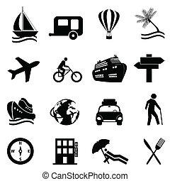娛樂, 集合, 旅行, 圖象, 空閑