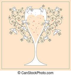 婚禮, 設計, 邀請