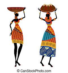 婦女, 种族, 花瓶