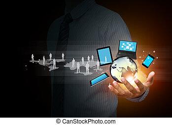 媒介, 技術, 社會