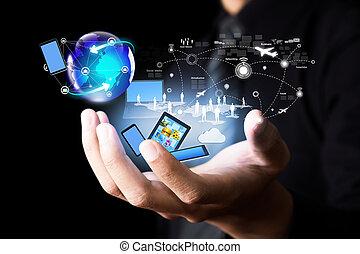 媒介, 現代的技術, 社會