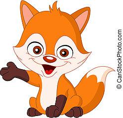 嬰孩, 狐狸