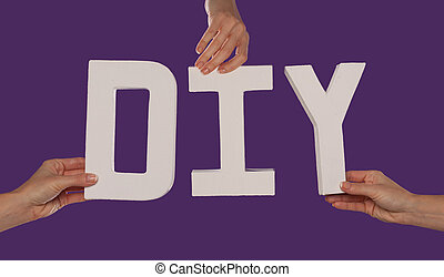 字母, 字母表, 白色, 拼寫, diy