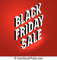 季節性, 字母, 等量, 概念, 正文, 星期五, offer., sale., 背景。, 明亮, 黑色, 做廣告, 廣告欄, 旗幟, 紅色