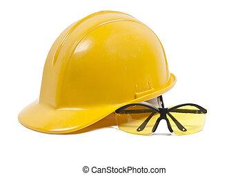 安全, 頭盔, 眼鏡