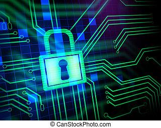 安全, cyber