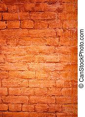 完美, grunge, 牆, -, 背景, 磚